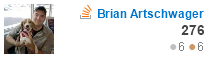 profile for Brian Artschwager at Stack Overflow, Q&A for professional and enthusiast programmers