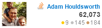 profile for Adam Houldsworth at Stack Overflow, Q&A for professional and enthusiast programmers