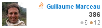 profile for Guillaume Marceau at Stack Overflow, Q&A for professional and enthusiast programmers