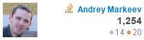 profile for Andrey Markeev at Stack Overflow, Q&A for professional and enthusiast programmers