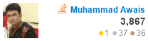 profile for Muhammad Awais at Stack Overflow, Q&A for professional and enthusiast programmers
