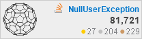 NullUserException