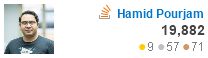 profile for Hamid Pourjam at Stack Overflow, Q&A for professional and enthusiast programmers