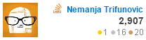 profile for Nemanja Trifunovic at Stack Overflow, Q&A for professional and enthusiast programmers
