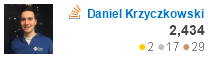 profile for Daniel Krzyczkowski at Stack Overflow, Q&A for professional and enthusiast programmers