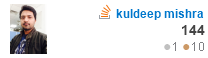 profile for kuldeep mishra at Stack Overflow, Q&A for professional and enthusiast programmers