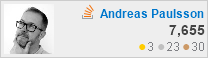 profile for Andreas Paulsson at Stack Overflow, Q&A for professional and enthusiast programmers