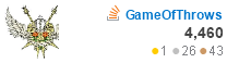 profile for GameOfThrows at Stack Overflow, Q&A for professional and enthusiast programmers