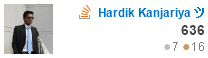 profile for Hardik Kanjariya ツ at Stack Overflow, Q&A for professional and enthusiast programmers