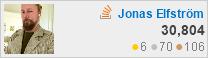 Stack Overflow profile for Jonas Elfström