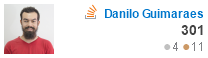 profile for Danilo Guimaraes at Stack Overflow, Q&A for professional and enthusiast programmers