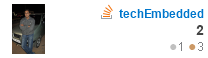 profile for techEmbedded at Stack Overflow, Q&A for professional and enthusiast programmers
