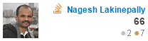profile for Nagesh Lakinepally at Stack Overflow, Q&A for professional and enthusiast programmers