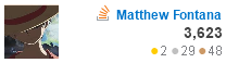 profile for Matthew Fontana at Stack Overflow, Q&A for professional and enthusiast programmers
