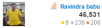 profile for Ravindra babu at Stack Overflow, Q&A for professional and enthusiast programmers