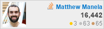 Stack Overflow profile for Matthew Manela at Stack Overflow, Q&A for professional and enthusiast programmers