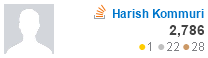profile for Harish at Stack Overflow, Q&A for professional and enthusiast programmers