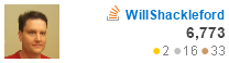profile for WillShackleford at Stack Overflow, Q&A for professional and enthusiast programmers