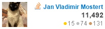 profile for Jan Vladimir Mostert at Stack Overflow, Q&A for professional and enthusiast programmers