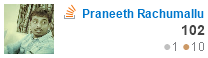 profile for Praneeth Rachumallu at Stack Overflow, Q&A for professional and enthusiast programmers
