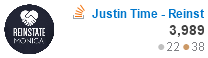 profile for Justin Time 2 Reinstate Monica at Stack Overflow, Q&A for professional and enthusiast programmers