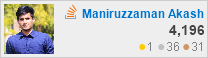 profile for Maniruzzaman Akash at Stack Overflow, Q&A for professional and enthusiast programmers