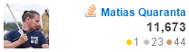 profile for Matias Quaranta at Stack Overflow, Q&A for professional and enthusiast programmers
