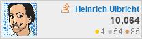 Profile for Heinrich Ulbricht at Stack Overflow