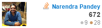 profile for Narendra Pandey at Stack Overflow, Q&A for professional and enthusiast programmers