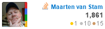 profile for Maarten van Stam at Stack Overflow, Q&A for professional and enthusiast programmers