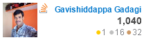 profile for Gavishiddappa Gadagi at Stack Overflow, Q&A for professional and enthusiast programmers