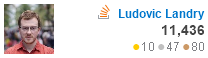 profile for Ludovic Landry at Stack Overflow, Q&A for professional and enthusiast programmers