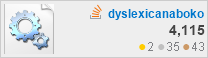profile for dyslexicanaboko at Stack Overflow, Q&A for professional and enthusiast programmers