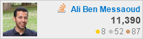 profile for Ali Ben Messaoud at Stack Overflow, Q&A for professional and enthusiast programmers
