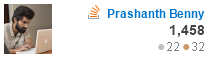 profile for Prashanth Benny at Stack Overflow, Q&A for professional and enthusiast programmers
