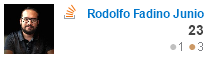 profile for Rodolfo Fadino Junior at Stack Overflow, Q&A for professional and enthusiast programmers