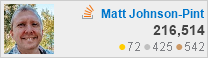 profile for Matt Johnson at Stack Overflow, Q&A for professional and enthusiast programmers