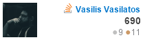 profile for Vasilis Vasilatos at Stack Overflow, Q&A for professional and enthusiast programmers