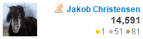 profile for Jakob Christensen at Stack Overflow, Q&A for professional and enthusiast programmers