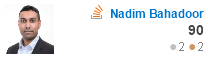profile for Nadim Bahadoor at Stack Overflow, Q&A for professional and enthusiast programmers