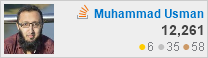 profile for Usman at Stack Overflow, Q&A for professional and enthusiast programmers
