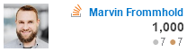 profile for Marvin Frommhold at Stack Overflow, Q&A for professional and enthusiast programmers