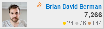 Stack Overflow profile for Brian David Berman