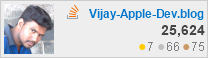Vijay-Apple-Dev Profile at Stack Overflow, Q&A for professional and enthusiast programmers