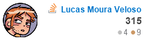 profile for Lucas Moura Veloso at Stack Overflow, Q&A for professional and enthusiast programmers