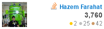 profile for Hazem Farahat at Stack Overflow, Q&A for professional and enthusiast programmers