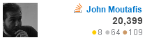 profile for John Moutafis at Stack Overflow, Q&A for professional and enthusiast programmers