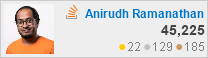profile for Anirudh Ramanathan at Stack Overflow,     Q&A for professional and enthusiast programmers