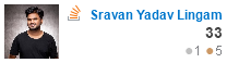 profile for Sravan Yadav Lingam at Stack Overflow, Q&A for professional and enthusiast programmers