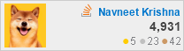 profile for Navneet ヅ at Stack Overflow, Q&A for professional and enthusiast programmers